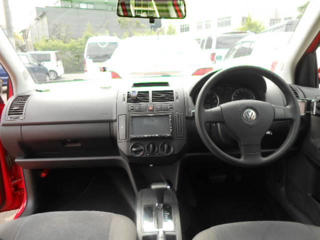 フォルクスワーゲン VW ポロ サンクスエディション HDDナビ
