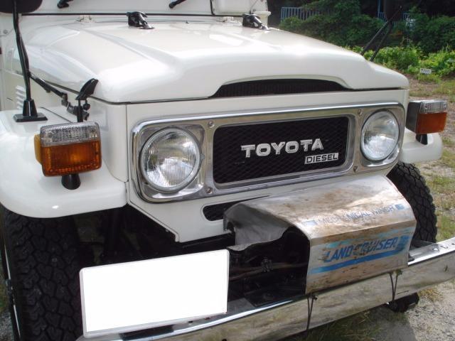 トヨタ ランドクルーザー40 最終型 13BT ディーゼルターボ 公認