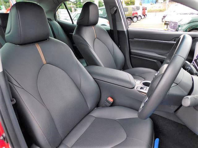 Gレザーパッケージ ハイブリッド メーカーオプションナビ フルセグTV CD DVD バックカメラ TSS PCS LDA RCC AHB HUD LEDオートライト 黒革シート 前席シートヒーター パワーシート(21枚目)