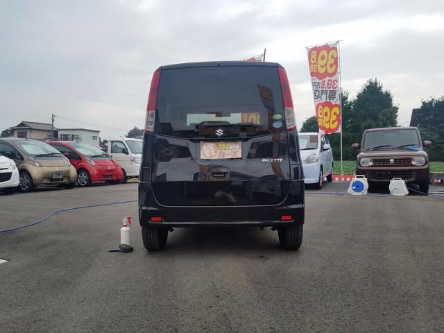 スズキ パレット X社外HDDナビ ETC搭載車