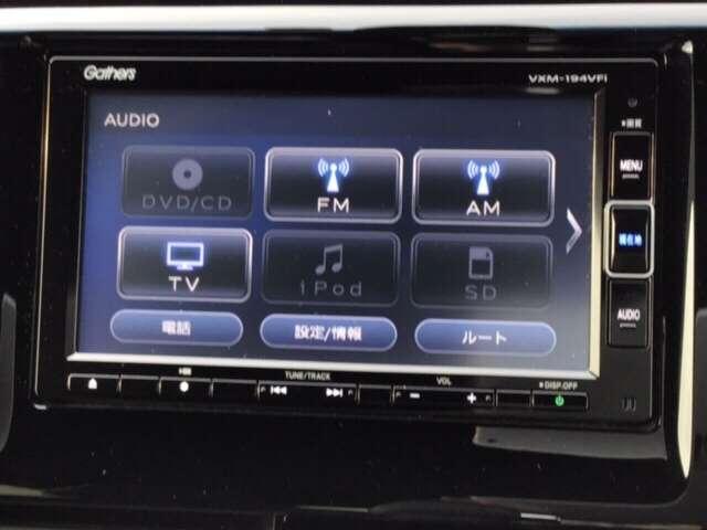 G SSパッケージII ホンダ純正メモリーナビ フルセグTV(12枚目)