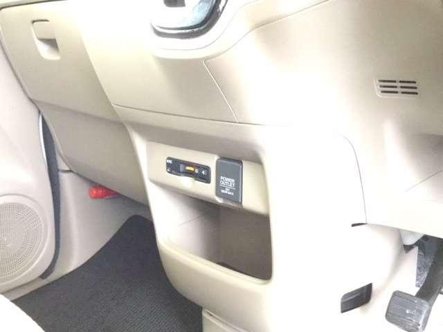 G・Lパッケージ ホンダ純正メモリーナビ フルセグテレビ スマキ- AUX CDデッキ 点検記録簿 両側スライド片側電動ドア イモビライザー ETC車載器 メモリナビ ABS ESC DVD アイドリングストップ付き(13枚目)