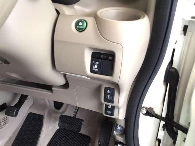 G・Lパッケージ ホンダ純正メモリーナビ フルセグテレビ スマキ- AUX CDデッキ 点検記録簿 両側スライド片側電動ドア イモビライザー ETC車載器 メモリナビ ABS ESC DVD アイドリングストップ付き(15枚目)