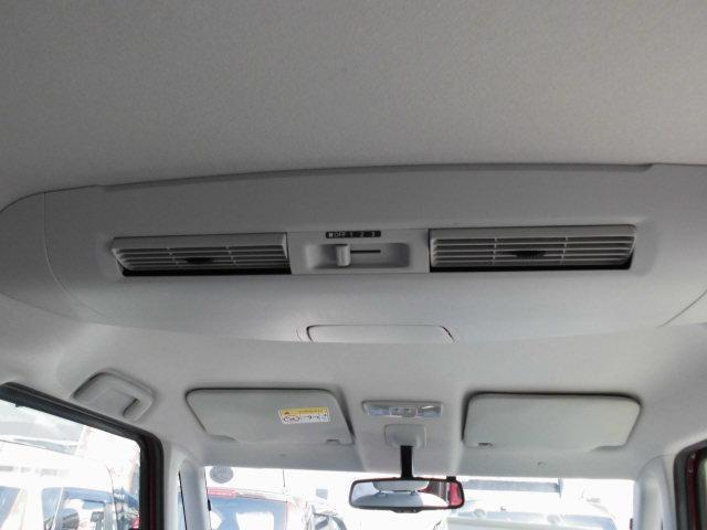 サーキュレーター付なので、後部座席にもしっかりと風を送ります。