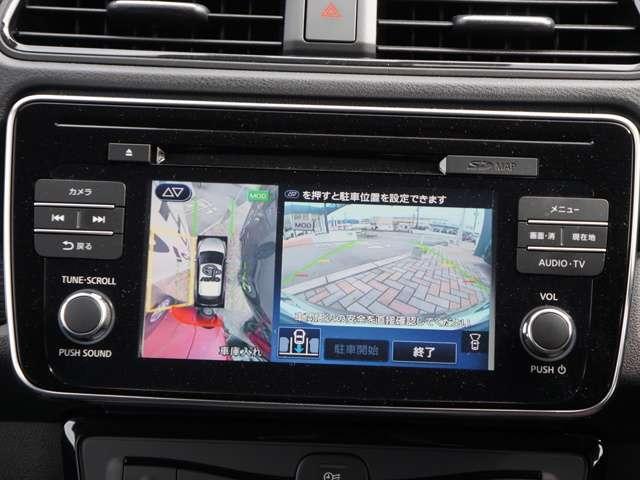 アラウンドビューモニターはもちろん装着 プロパイロットパーキングサポートで車庫入れも簡単です!
