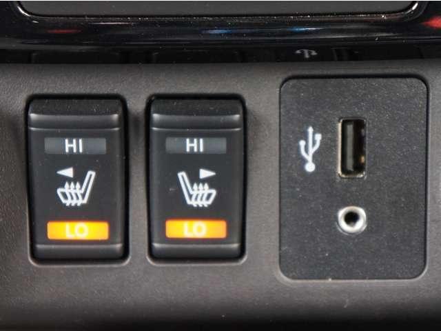 全席シートヒーター付なので寒い冬の日でもすぐに暖まりますよ!