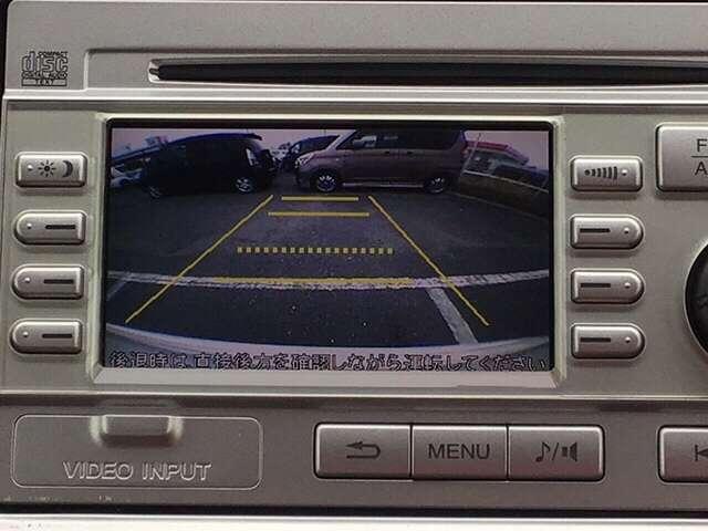 G 純正バックモニター付CDコンポ Rカメラ(10枚目)