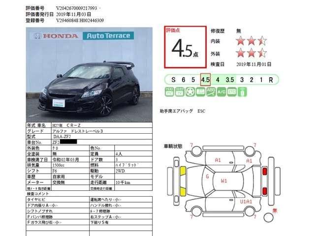 「ホンダ」「CR-Z」「クーペ」「福岡県」の中古車11