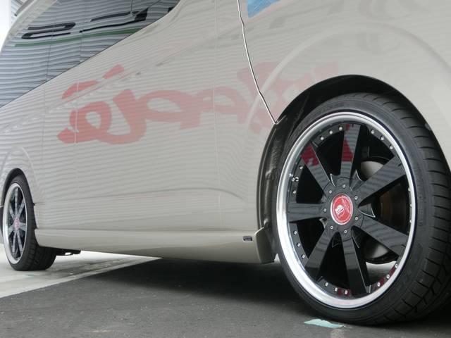 グランドキャビン レガンス新車エアロコンプリート TSSレス(9枚目)