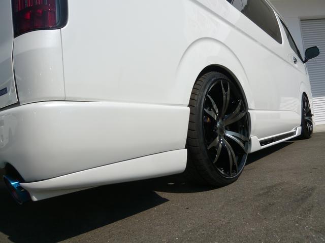 トヨタ ハイエースワゴン GL 10人乗 NACSワイドエアロコンプリート