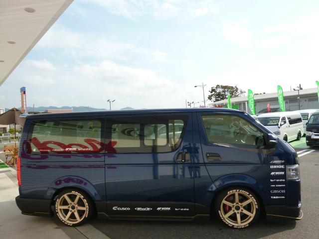 トヨタ ハイエースバン ロングDX NACS GTデモカー