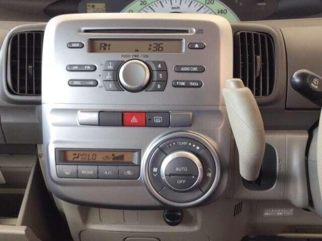 ダイハツ タント X 純正1体型CDコンポ オートエアコン ETC