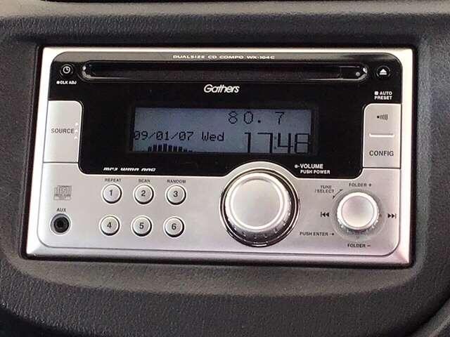 WX-104C ホンダ純正のデュアルサイズCDコンポ WX-104Cです!MP3/WMA/AACにも対応したCDコンポです。