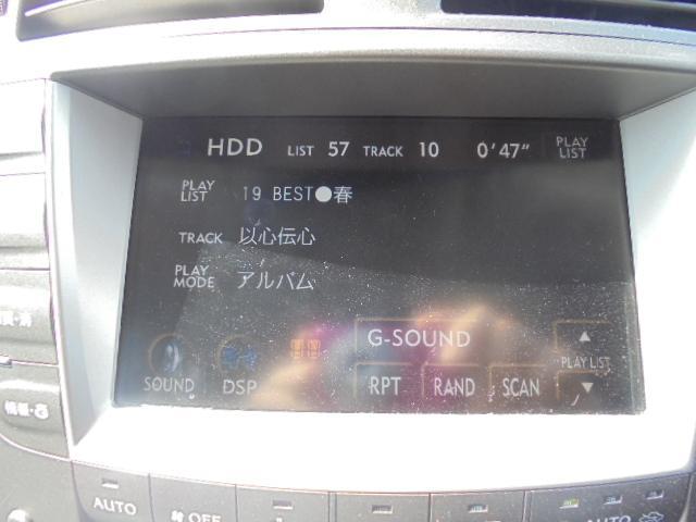 IS350バージョンS・純HDD・パドルシフト・1年保証付(16枚目)
