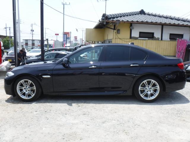 528i Mスポーツパッケージ・純正マルチ・黒革シート・D車(6枚目)