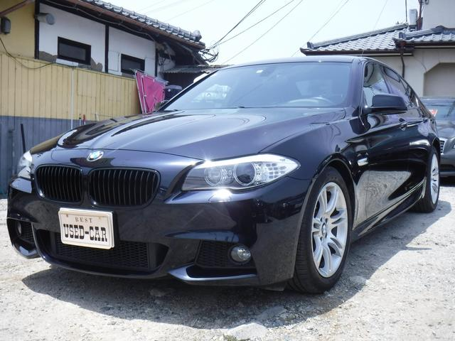 528i Mスポーツパッケージ・純正マルチ・黒革シート・D車(7枚目)