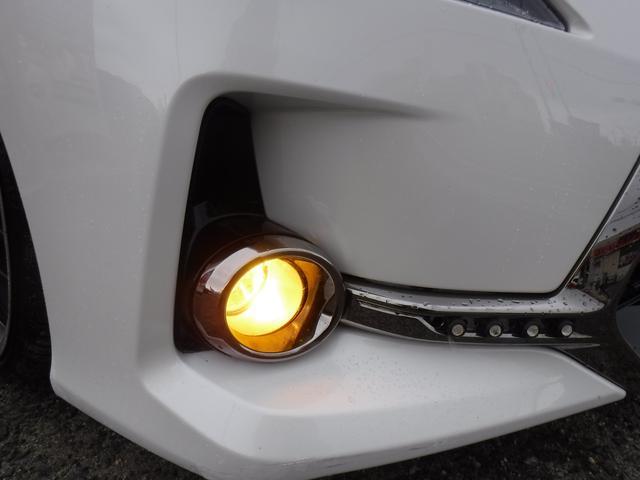 250G リラックスセレクション G.S後期仕様・G.S専用エアロ・社外SDナビ・CD録音・DVD再生・フルセグ・20AW・車高調KIT・W2本出しマフラー・L字テール・電格LEDウインカーミラー・黒革シートカバー・ルーフラッピング(14枚目)