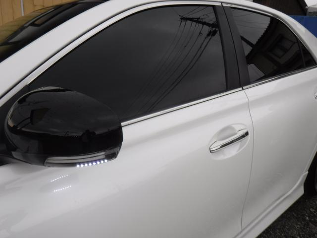 250G リラックスセレクション G.S後期仕様・G.S専用エアロ・社外SDナビ・CD録音・DVD再生・フルセグ・20AW・車高調KIT・W2本出しマフラー・L字テール・電格LEDウインカーミラー・黒革シートカバー・ルーフラッピング(19枚目)