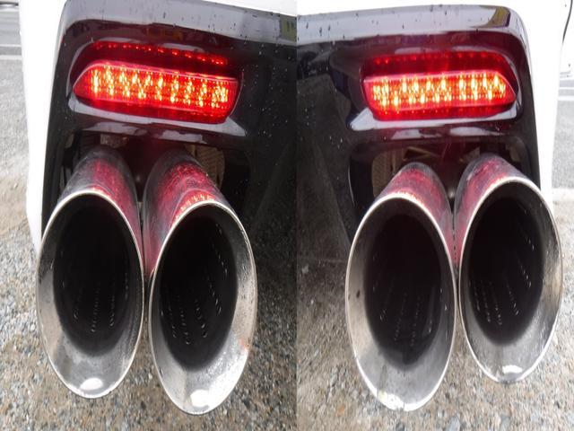 250G リラックスセレクション G.S後期仕様・G.S専用エアロ・社外SDナビ・CD録音・DVD再生・フルセグ・20AW・車高調KIT・W2本出しマフラー・L字テール・電格LEDウインカーミラー・黒革シートカバー・ルーフラッピング(21枚目)