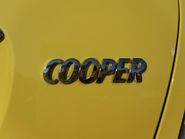 クーパー 純正HID・黒黄革シートカバー・社外15AW・CD/AM/FM・ETC・キーレス・電格ミラー・記録簿・取説(20枚目)