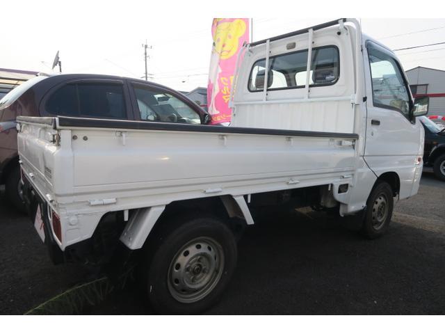 スバル サンバートラック TB 三方開き 荷台ガード ラジオ