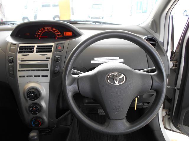トヨタ ヴィッツ F キーレス 電動格納ミラー ETC CD レンタUP