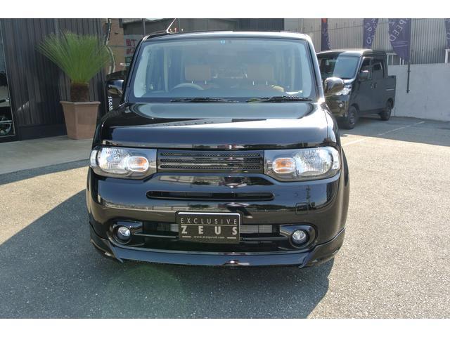 日産 キューブ 15X ZEUS新車コンプリート ダウンサスVer
