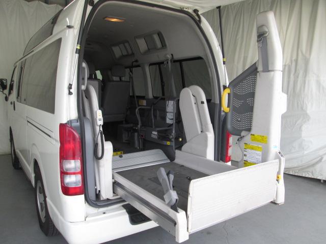 リフタータイプ車椅子2基積 10人乗り 全国1年無料保証(17枚目)