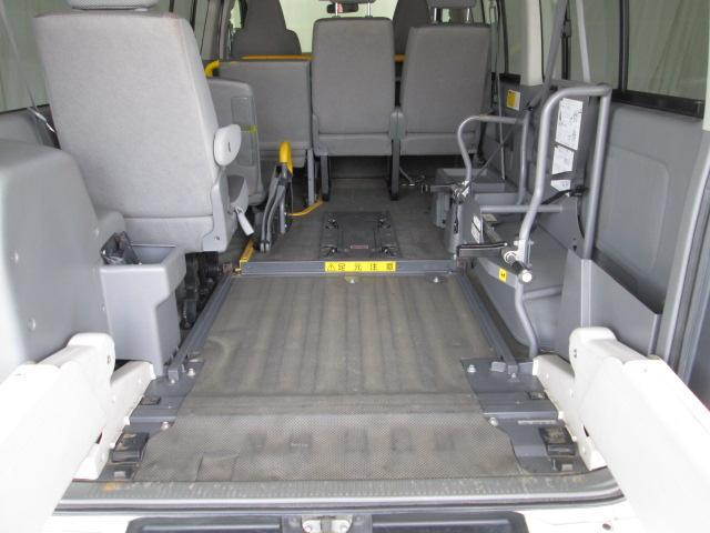リフタータイプ車椅子2基積 10人乗り 全国1年無料保証(20枚目)