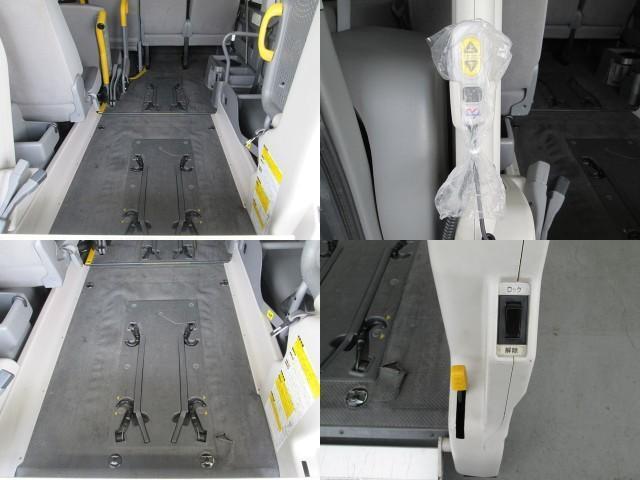 リフタータイプ 車椅子2基積 10人乗 全国無料一年保証(5枚目)