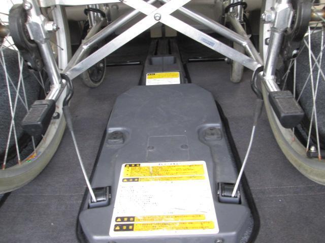 スロープタイプ車椅子1基積6人乗り全国無料一年保証(14枚目)