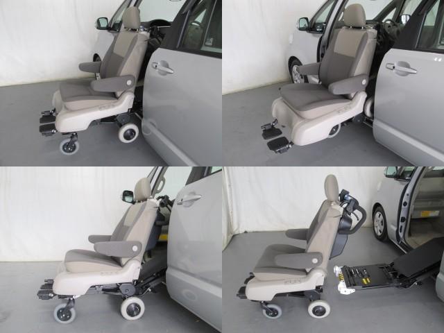 助手席リフトアップ脱着シート電動介護式車椅子全国無料一年保証(9枚目)