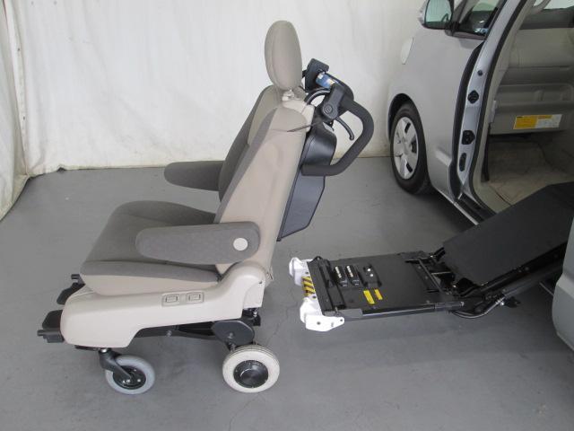 助手席リフトアップ脱着シート電動介護式車椅子全国無料一年保証(10枚目)