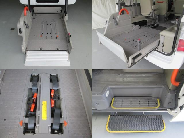 リフタータイプ車イス2基積10人乗 福祉車両 1年保証(10枚目)