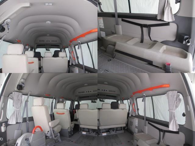 リフタータイプ車イス2基積10人乗 福祉車両 1年保証(12枚目)