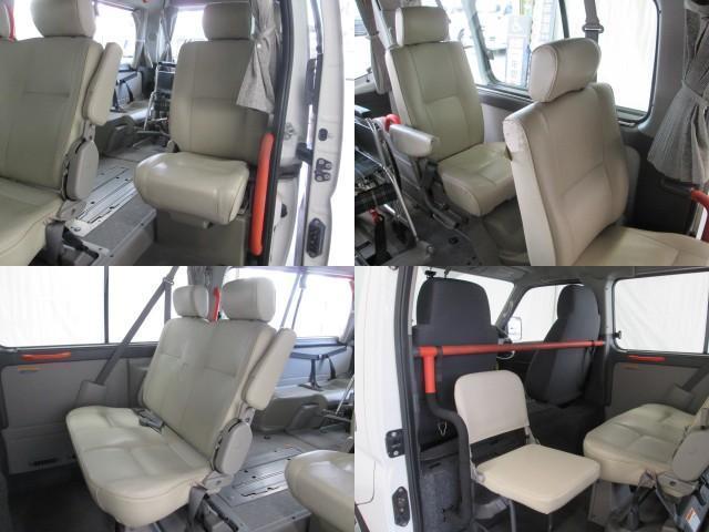 リフタータイプ車イス2基積10人乗 福祉車両 1年保証(15枚目)