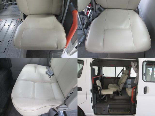 リフタータイプ車イス2基積10人乗 福祉車両 1年保証(16枚目)