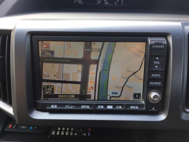 ホンダ ステップワゴンスパーダ Z 純正HDD Bカメラ 後部席モニター 両側Pスライドドア
