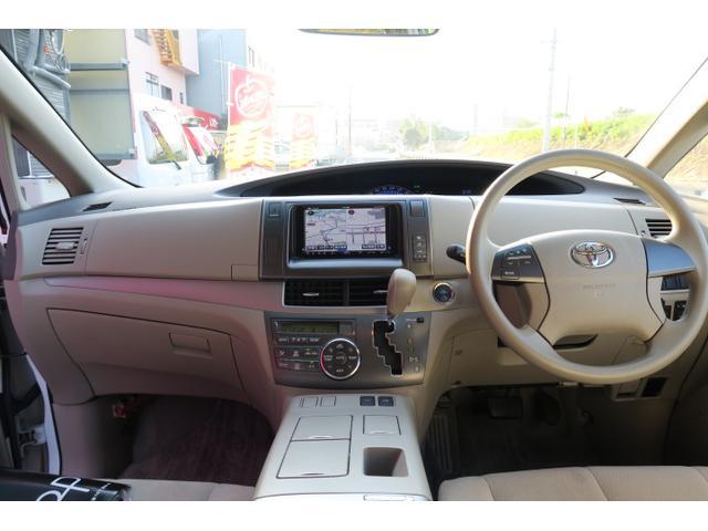トヨタ エスティマハイブリッド X ナビ フルセグ バックモニター オートエアコン