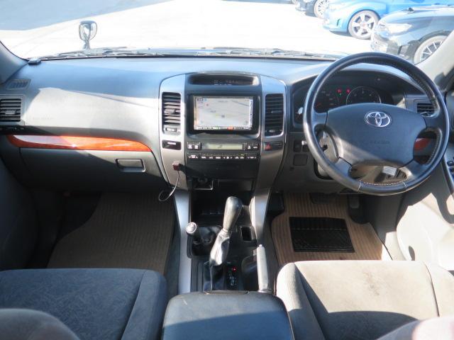 トヨタ ランドクルーザープラド TXリミテッド HDDナビ ディーゼルターボ サンルーフ