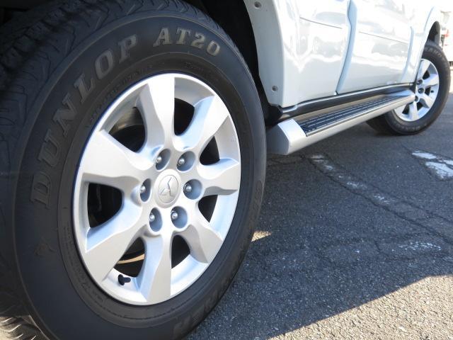 三菱 パジェロ エクシード 1オーナー SDナビ ディーゼル 新品タイヤ