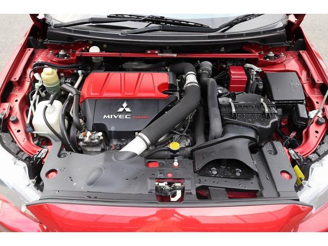 GSRエボリューションX HKS車高調 HKSマフラー エンケイ18AW サンルーフ レカロシート リアスポイラー ブレンボキャリパー スマートキー HIDヘッドライト ETC 4WD 5速ミッション(20枚目)