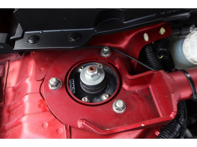 GSRエボリューションX HKS車高調 HKSマフラー エンケイ18AW サンルーフ レカロシート リアスポイラー ブレンボキャリパー スマートキー HIDヘッドライト ETC 4WD 5速ミッション(69枚目)