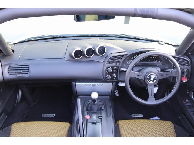タイプS 無限ハードトップ RAYS17AW ビルシュタイン車高調 SPOONエキマニマフラー SPOONアルミラジエーター SPOONタワーバー Defi追加メーター ロールバー リアウイング NARDIハン(11枚目)