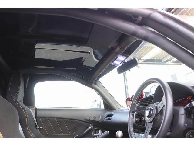 タイプS 無限ハードトップ RAYS17AW ビルシュタイン車高調 SPOONエキマニマフラー SPOONアルミラジエーター SPOONタワーバー Defi追加メーター ロールバー リアウイング NARDIハン(40枚目)