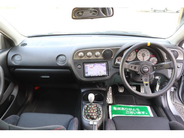 タイプR TEIN車高調 TRUSTマフラー 零1000エアクリ ADVAN18インチアルミ 純正レカロ クリアテール リアスポイラー momoステアリング HIDヘッドライト ETC SDナビ ワンセグ(9枚目)