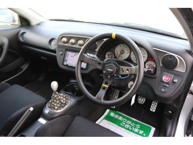 タイプR TEIN車高調 TRUSTマフラー 零1000エアクリ ADVAN18インチアルミ 純正レカロ クリアテール リアスポイラー momoステアリング HIDヘッドライト ETC SDナビ ワンセグ(10枚目)