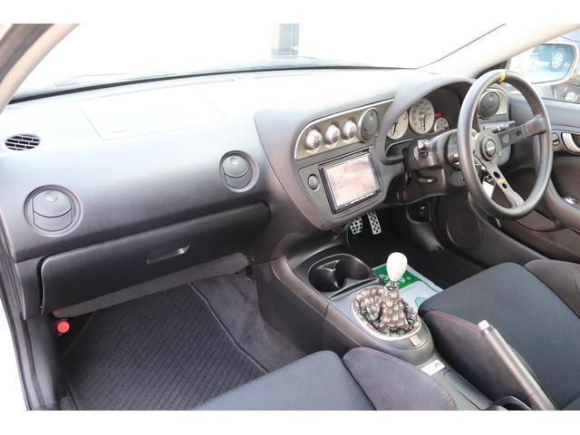 タイプR TEIN車高調 TRUSTマフラー 零1000エアクリ ADVAN18インチアルミ 純正レカロ クリアテール リアスポイラー momoステアリング HIDヘッドライト ETC SDナビ ワンセグ(11枚目)