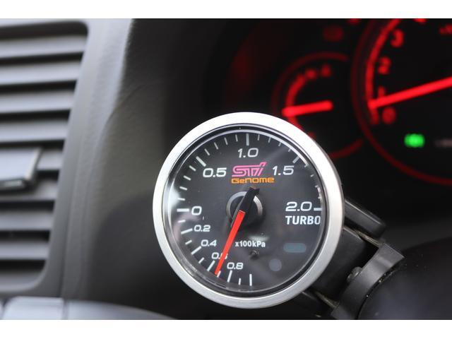 tuned by STI HKS車高調 STIマフラー STIターボ計 タイミングベルト交換済 純正18AW リアスポイラー ブレンボキャリパー ハーフレザーシート HIDヘッドライト HDDナビ フルセグ MSV(13枚目)