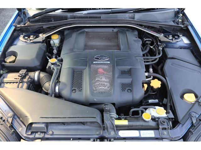 tuned by STI HKS車高調 STIマフラー STIターボ計 タイミングベルト交換済 純正18AW リアスポイラー ブレンボキャリパー ハーフレザーシート HIDヘッドライト HDDナビ フルセグ MSV(20枚目)